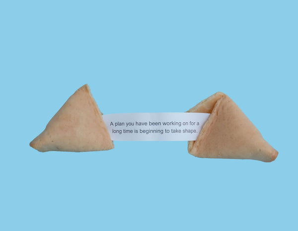 fortune cookie open with fortune written inside questioning whether we carry false narratives that hinder our soul and growth