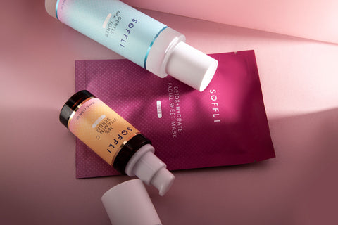soffli-minimal-clean-skincare-products-lineup