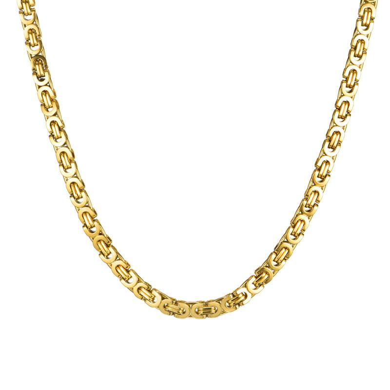 18K Gold Filled Byzantine Chain 23.5""