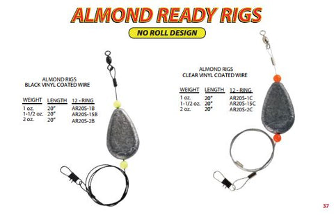 H&H Almond Ready Rigs - H&H Lure Company