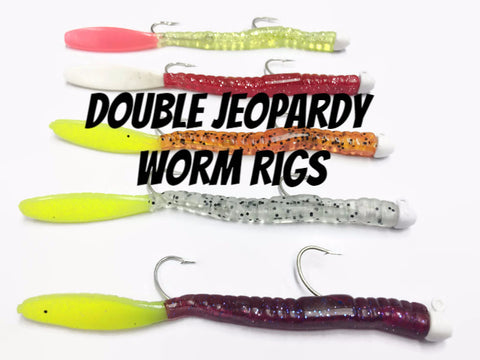 Double Jeopardy Worm Rig - H&H Lure Company