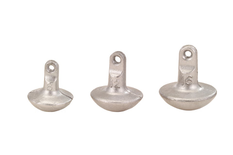 Mushroom Decoy Anchor Weights - H&H Lure Company