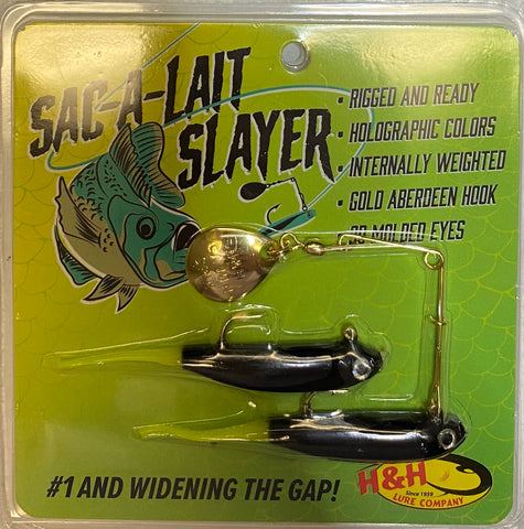 Pro Sac-A-Lait Slayer Spin - H&H Lure Company