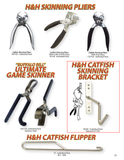 Stainless Steel Skinning Bracket - H&H Lure Company