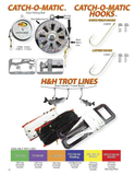Deluxe Trot Line 150'-25 - H&H Lure Company