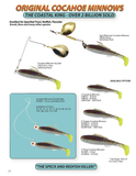 Cocahoe Minnow Double Rig - H&H Lure Company