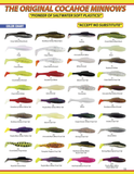 "4"" Queen Cocahoe Minnow (10-pack)"