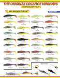"4"" Queen Cocahoe Minnow (50-pack) - H&H Lure Company"