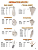 Saltwater Sinkers - H&H Lure Company