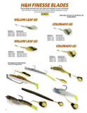 Finesse Blades - H&H Lure Company