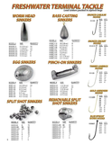 Pinch-On Sinkers - H&H Lure Company