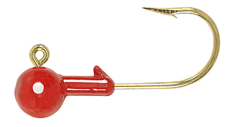 Round Jig Heads Gold Hook (1/16 oz - 1/2 oz)