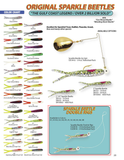 Sparkle Beetle Double Rig~1/4 oz Jig Head - H&H Lure Company
