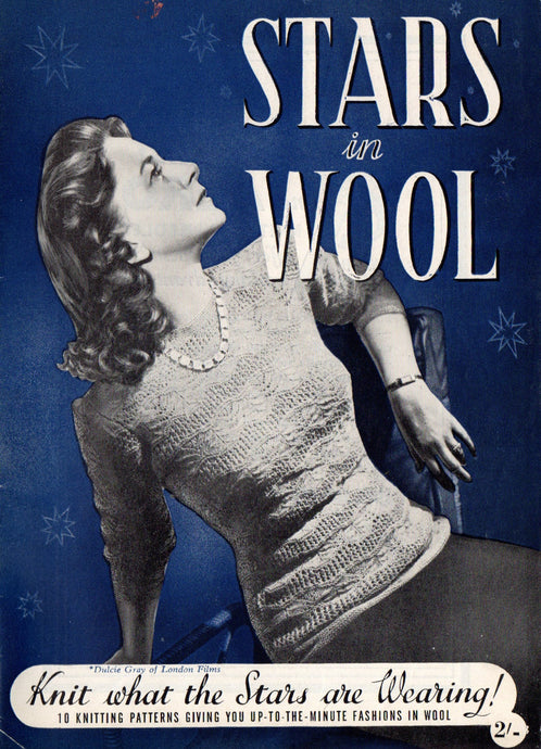 1940s Knitting Booklet - Stars In Wool