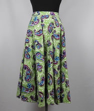 Load image into Gallery viewer, 1950s Cotton Circle Skirt - W24
