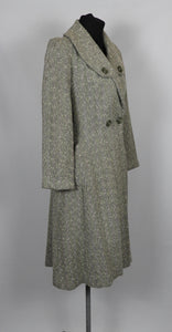 1940s Fit and Flare Princess Coat - B37