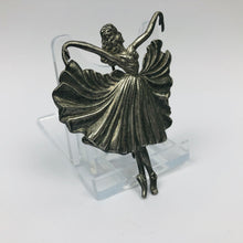 Load image into Gallery viewer, RESERVED FOR CAMIELLE - DO NOT BUY Vintage Dancing Ballerina Brooch