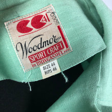 Load image into Gallery viewer, 1940s Deadstock CC41 Pistachio Green Moygashel Utility Dress - B44