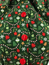 "Load image into Gallery viewer, 1940s Reproduction Christmas Blouse in Riley Blake Cotton - Bust 34"" 36"""