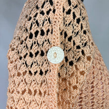 Load image into Gallery viewer, Original 1930s Crochet Skirt and Top Set - B34
