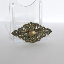 Load image into Gallery viewer, Vintage Czech Brooch with Colourful Paste
