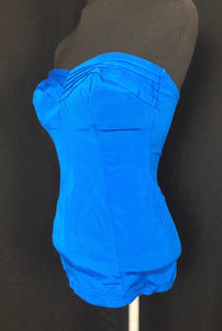 1950s Vibrant Blue St Michael Swimsuit - B34
