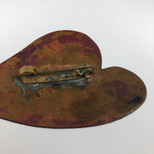 Load image into Gallery viewer, 1930s 1940s Copper Autumnal Leaf Brooch