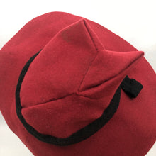 Load image into Gallery viewer, Amazing 1930s or 1940s Deep Red Felt French Fedora