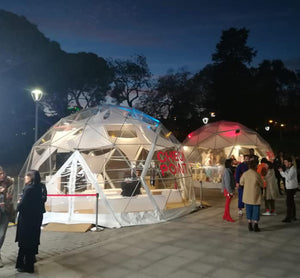 5m Glamour Dome - TheGlampingStore