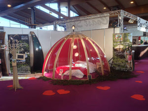3,5m Wooden Dome - TheGlampingStore
