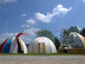 5,5m Wooden Dome - TheGlampingStore
