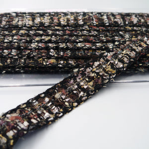 32mm 'Chanel' Style Tweed Braid 6123