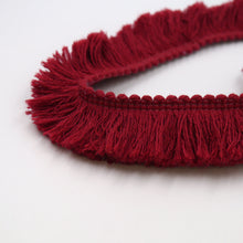 Load image into Gallery viewer, 30mm Cotton Brush Fringe for interiors, fashion and accessories 6497