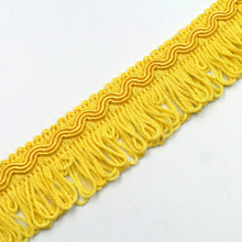 Load image into Gallery viewer, 32mm Vintage Gimp Braid With Looped Fringe 865