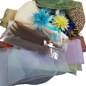 Assorted Bundle For Millinery And Crafts for Hats Fascinators and Millinery AS001
