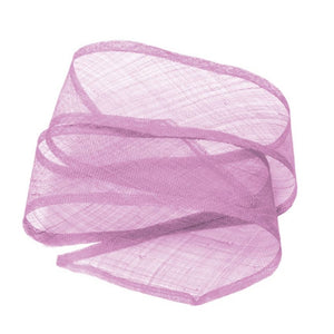 Sinamay shush trim bound edges for millinery fascinator wedding hats BR054