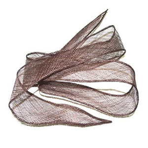 Sinamay shush trim hand rolled edges for millinery fascinator wedding hats BR055