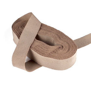 BR057 Milliners Cotton Rich Grossgrain Ribbon, 2.5CM X 1M for Hats Fascinators and Millinery BR057