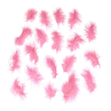 Load image into Gallery viewer, Marabou feathers x 20, for millinery fascinator wedding hats FE008