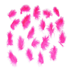 Marabou feathers x 20, for millinery fascinator wedding hats FE008