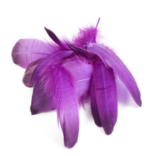 Load image into Gallery viewer, Loose goose feathers for millinery fascinators and wedding hats FE009