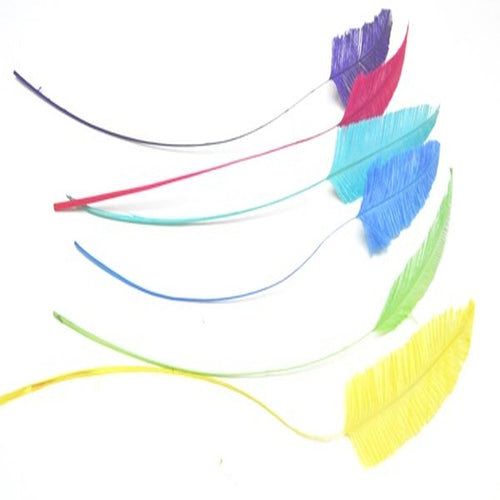 Ostrich arrow quill feather for millinery fascinators and wedding hats FE015