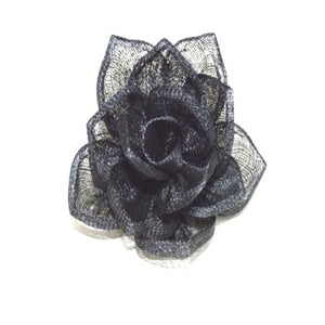 Hand made sinamay star rose flower for millinery fascinator wedding hats FL008