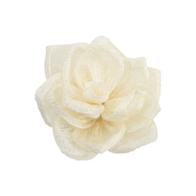 Load image into Gallery viewer, Hand made sinamay star rose flower for millinery fascinator wedding hats FL008