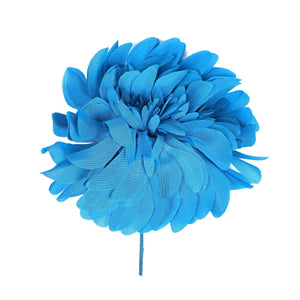 Taffeta Flower Corsage for Hats Fascinators and Millinery FL018