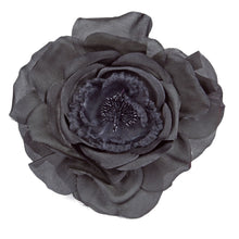Load image into Gallery viewer, Taffeta Corsage for Hats Fascinators and Millinery FL019