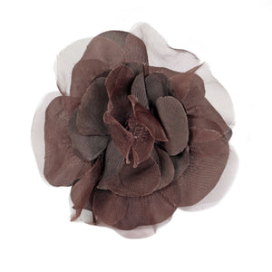 Organza And Taffeta Flower Corsage for Hats Fascinators and Millinery FL022
