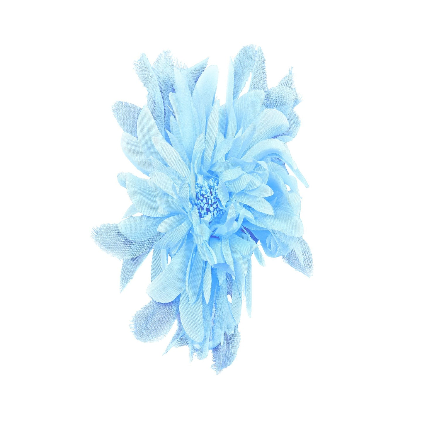 Taffeta And Organza Flower Corsage for Hats Fascinators and Millinery FL023