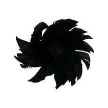 Load image into Gallery viewer, Goose feather spiky flower for millinery fascinators wedding hats FM044