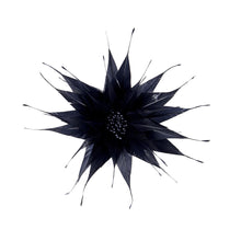Load image into Gallery viewer, Spiky feather flower for Hats Fascinators and Millinery FM052